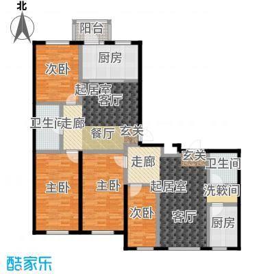 鹤乡茗苑C户型建筑面积69.31平方米,D户型建筑面积73.03-73.41平方米户型