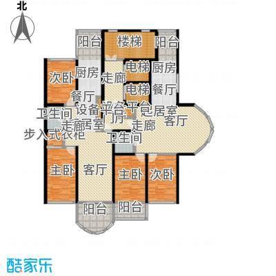 金榜苑户型4室2卫