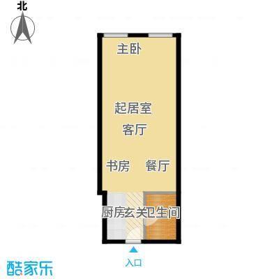 正佳东方国际广场67.88㎡A户型1卫