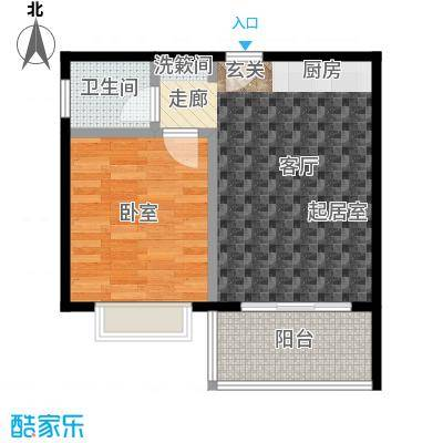 苏荷公寓户型1卫