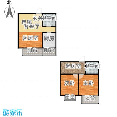 恋日风尚12号楼-124.92平米户型