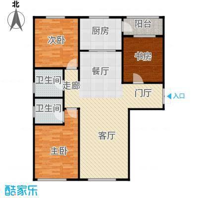 欣美御河九号108.08㎡F-户型10室