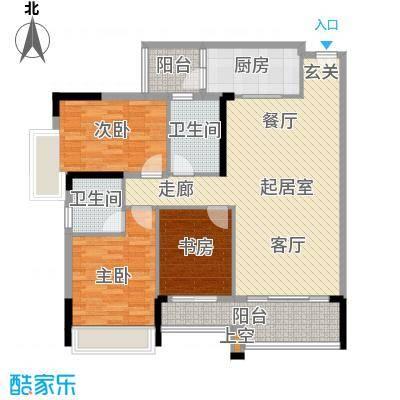 盈悦豪庭111.00㎡B型(5、6、7、8幢)01、02QQ