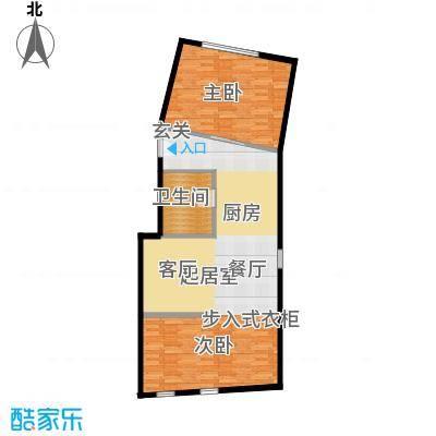 正佳东方国际广场118.00㎡D户型1室1卫