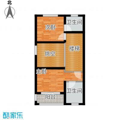 佳兆业东戴河57.09㎡别墅户型10室