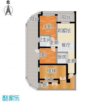东方・山海湾57.16㎡C户型2室2厅1卫