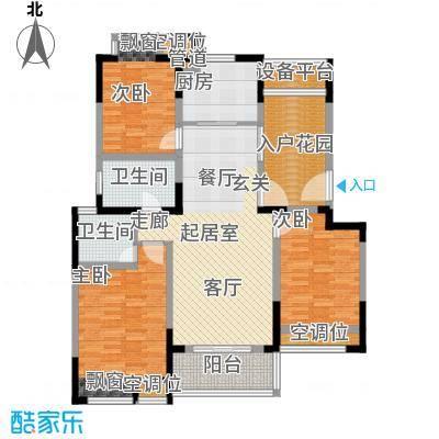 常熟老街116.00㎡GC22尊贵三居户型3室2厅2卫