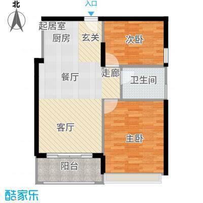 梦云南・雨林澜山户型2室1卫