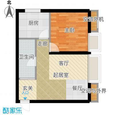 盛世闲庭二期38.94平方米户型