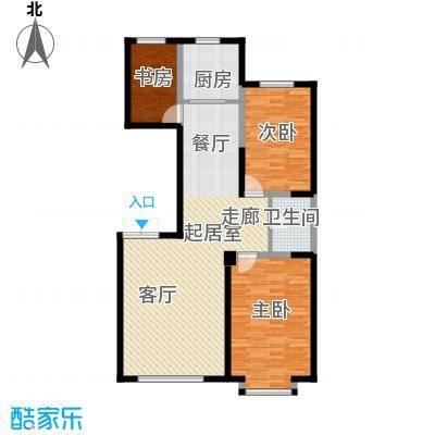 北大恒苑114.00㎡3室2厅1卫