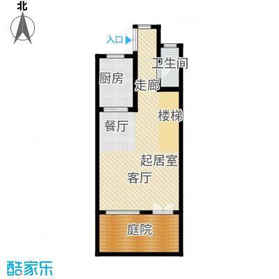 佳兆业东戴河68.36㎡别墅户型10室