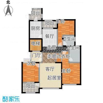 石湖天玺154.00㎡石湖天玺天筑154平米户型3室2厅2卫