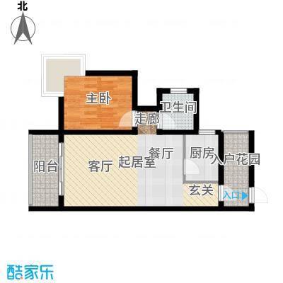 海南东方锦绣蓝湾69.78㎡户型
