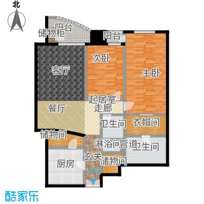 迎宾国际公寓1门09户型 二室二厅 169.98㎡户型