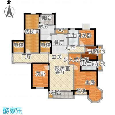 凡尔赛观邸153.00㎡4室2厅2卫