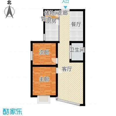 檀香湾2室2厅1卫