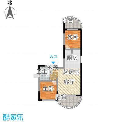 美好・龙沐湾D3 221平米户型2室2厅1卫