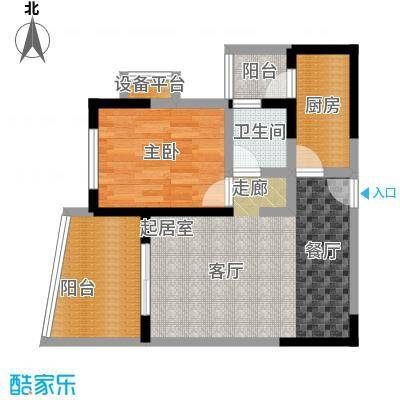 美好・龙沐湾C2 67.18平米户型