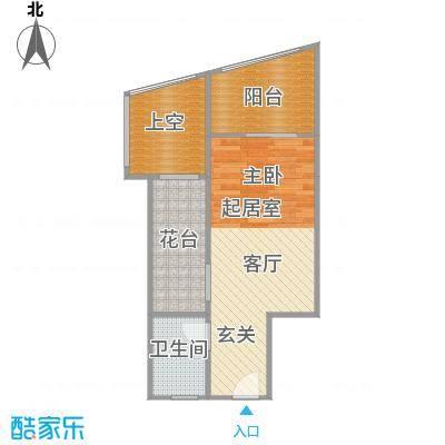 隆鑫诺亚方舟32.86㎡A1户型1室1厅1卫