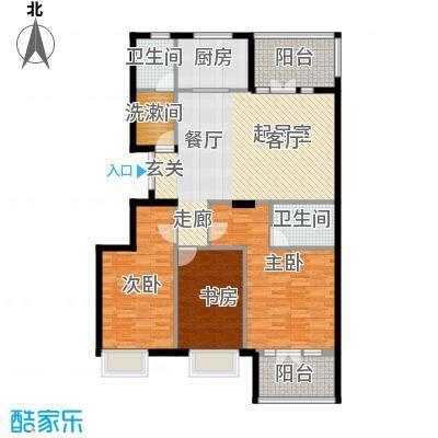 商博东城印象117.47㎡1号楼B户型10室