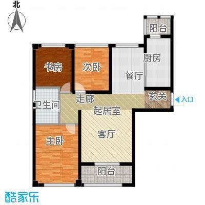 苏州望湖公寓106.00㎡A1户型3室2厅1卫