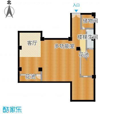 上饮合院141.00㎡上饮合院12号楼地下二层1室2厅-T