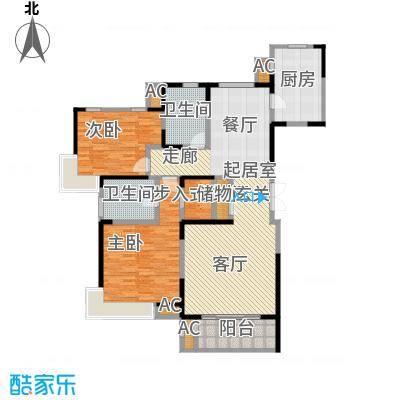 中星湖滨城四期K1_140户型CC
