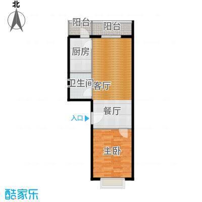 创业公寓二期63.11㎡1室1厅1卫