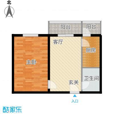 创业公寓二期56.86㎡1室1厅1卫