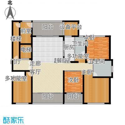 海鑫花园258.00㎡D户型3室2厅2卫