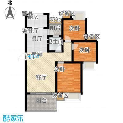 华城山水人家3室2厅1卫