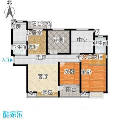 �灞一号D户型2+2室2厅2卫户型2室2厅2卫