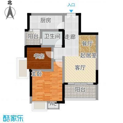 �灞一号78.23㎡二房一厅一卫-104套户型