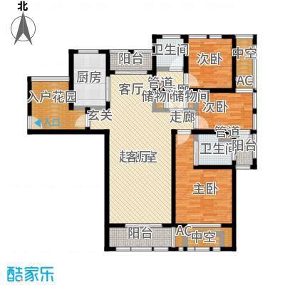 亿丰赛格数码城127.00㎡财富公馆房源户型3室2厅2卫