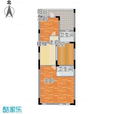 汇置尚都252.00㎡别墅TH22单元二层副本四室户型4室2厅4卫
