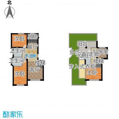 北国奥林匹克花园91.89㎡D5户型 2室2厅2卫户型2室2厅2卫