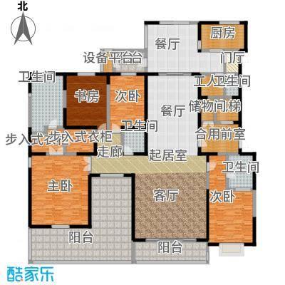 自在山D户型4室4厅2卫