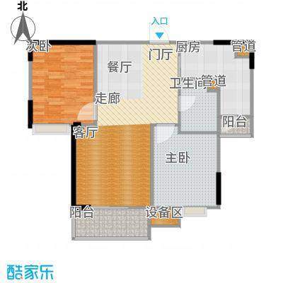 ECO城户型2室1厅1卫1厨