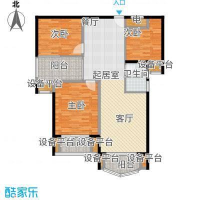 旺江壹品户型3室1卫