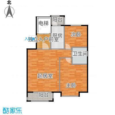 悦城H10# 使用面积72.37平方米户型