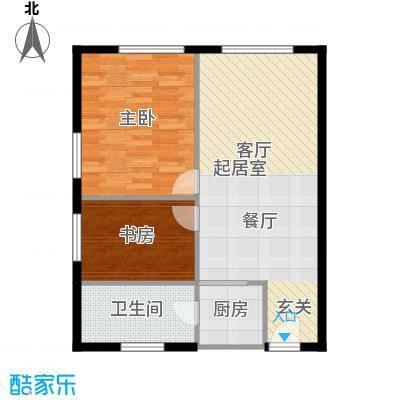 科贸时代国际公寓A户型 100㎡户型