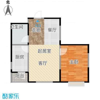 LOHAS上院7号公寓65.43㎡户型1室1卫1厨