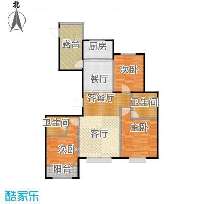 天成・明月洲109.46㎡户型10室