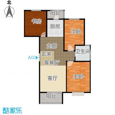 恋日风尚12号楼-122.79平米户型