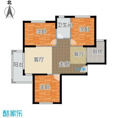 建业森林半岛113.30㎡3室2厅1卫