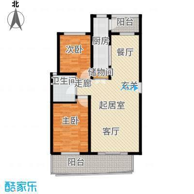 欧阳名邸104.00㎡房型: 二房; 面积段: 104 -104 平方米;户型