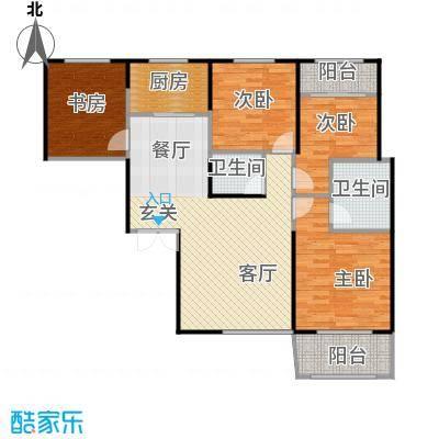 高新百悦城114.97㎡A2户型4室2厅2卫