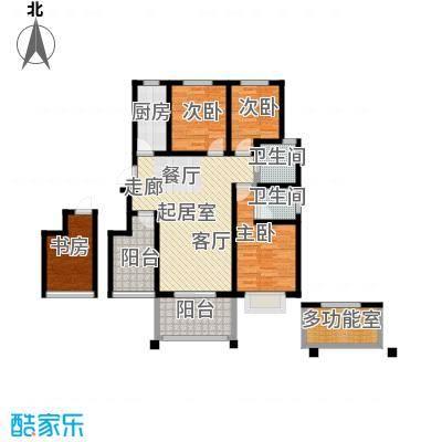 郑东宽景一品99.10㎡B-1户型3室2厅2卫