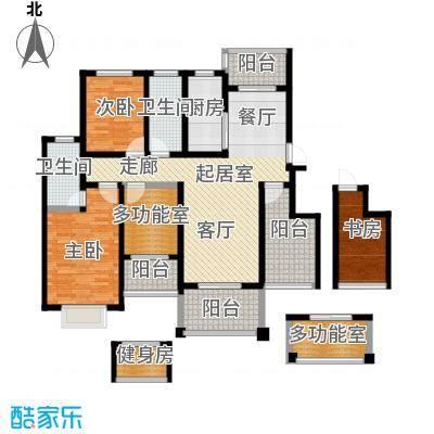 郑东宽景一品124.13㎡A-1户型3室2厅2卫