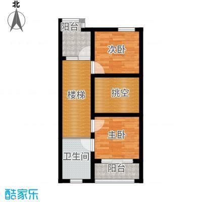 佳兆业东戴河52.54㎡别墅户型10室